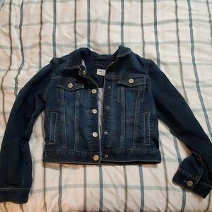 EUC- GAP denim coat size M
